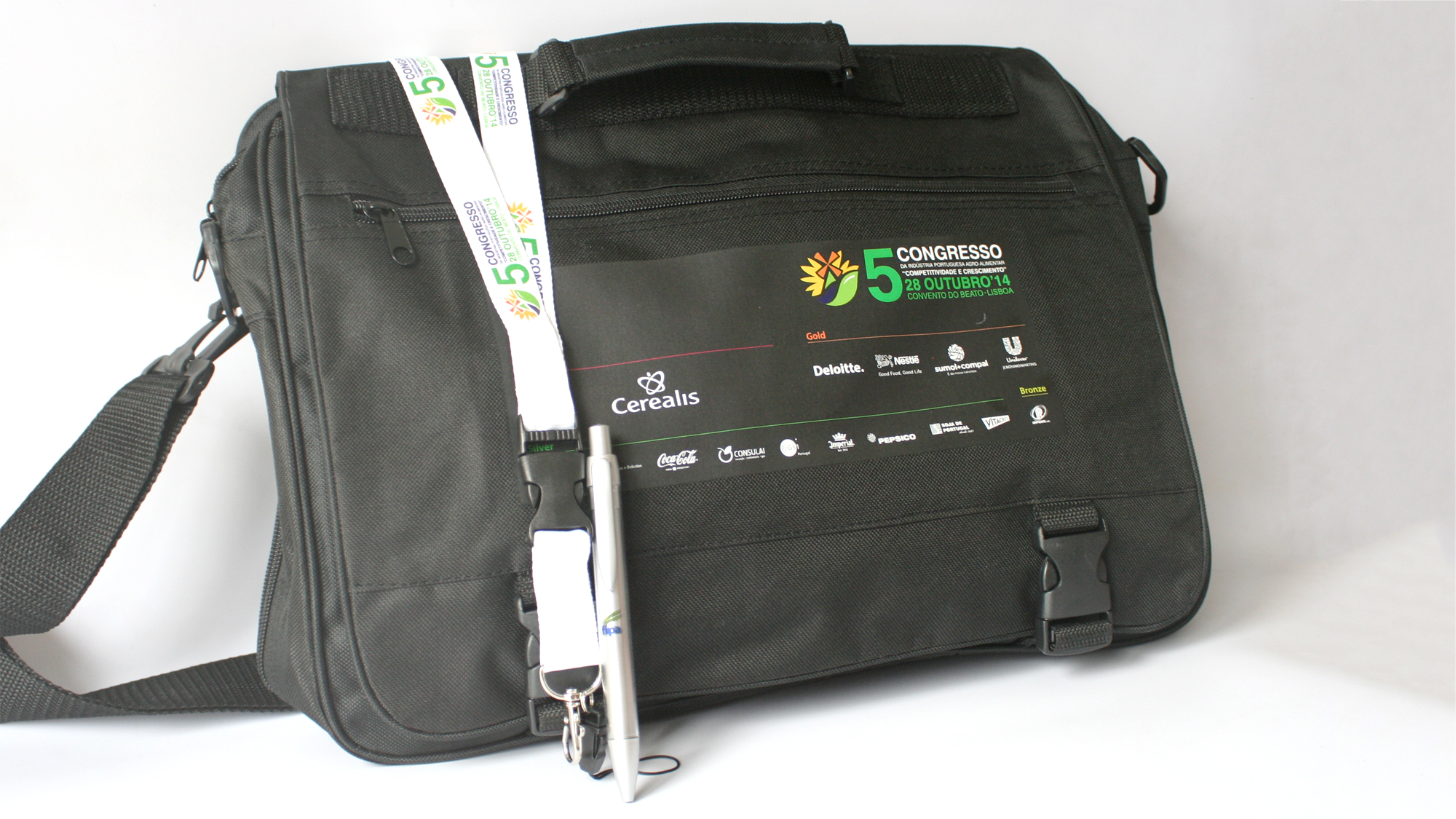 FIPA | Materiais de Comunicação 5º Congresso Indústria Agro-Alimentar