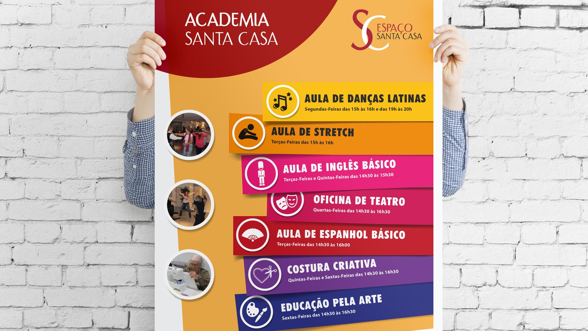 Santa Casa | Cartaz da Academia