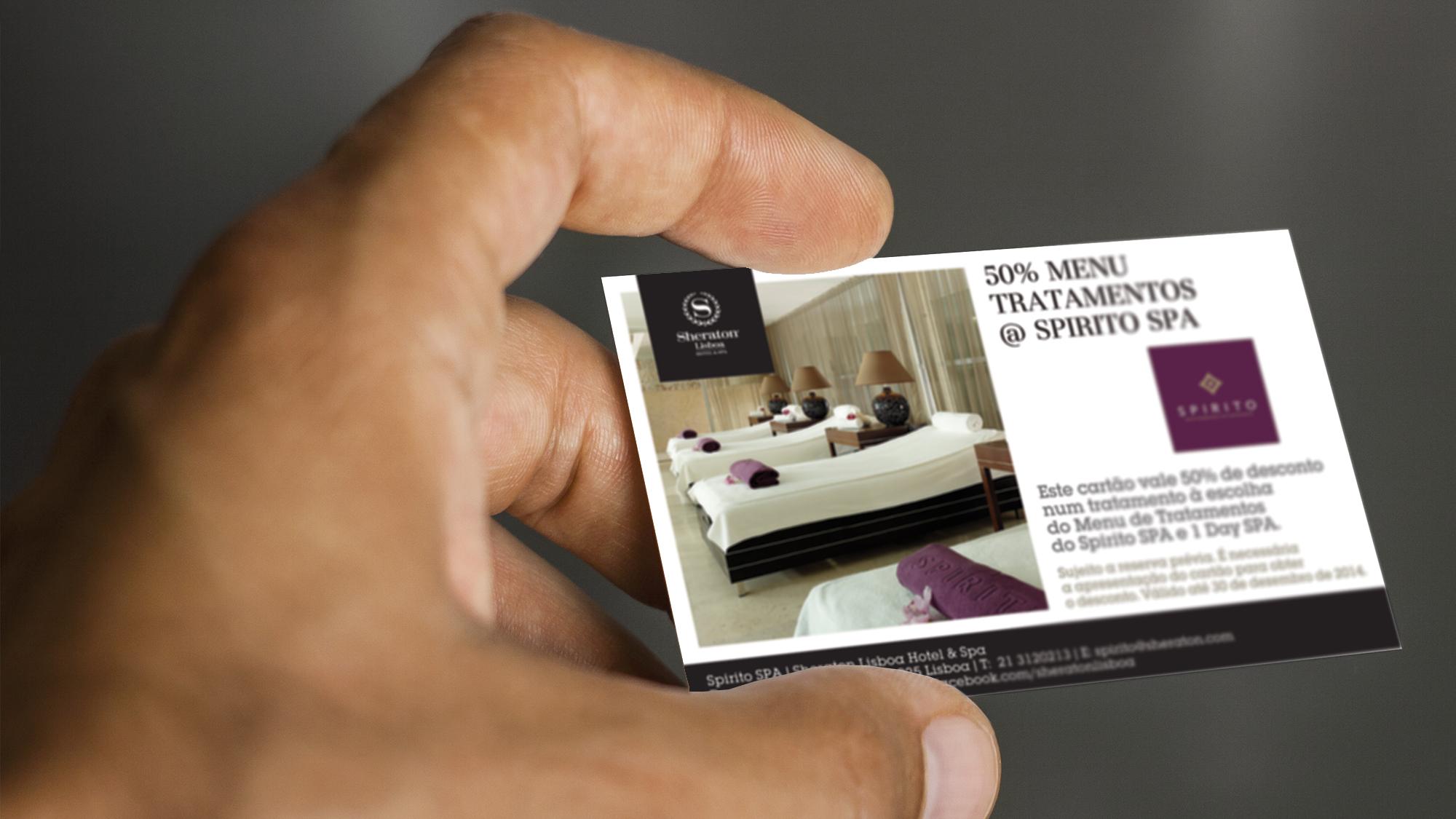 Sheraton Lisboa Hotel & Spa | Vouchers comerciais